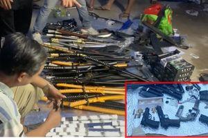 Đồng Nai: Kiểm tra ma túy, phát hiện kho vũ khí lớn ngay tại nhà