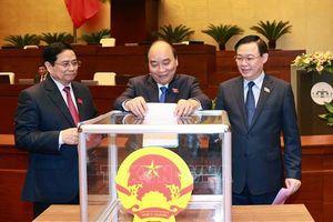 Lãnh đạo các nước gửi điện chúc mừng lãnh đạo Đảng, Nhà nước Việt Nam