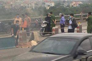 Điều tra nguyên nhân thanh niên tử vong trên cầu Thanh Trì