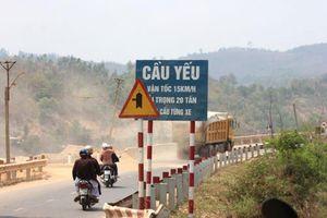 Sửa chữa khẩn cấp cầu Chằm Mè và cầu Bài Văn trước mùa mưa bão