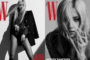 Stylist đã biến tấu thế nào mà Rosé mặc hẳn quần chíp lên bìa W Hàn vẫn không phản cảm?