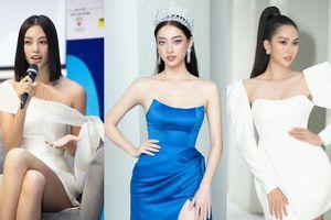 Hoa hậu Tiểu Vy, Lương Thùy Linh đích thân thị phạm catwalk cho các bạn sinh viên