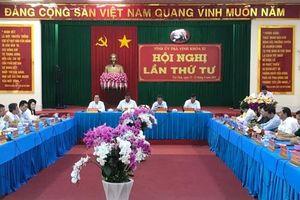 Trà Vinh đẩy mạnh triển khai Nghị quyết Đại hội đại biểu Đảng bộ tỉnh lần thứ XI