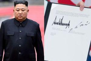 Chữ ký của các nguyên thủ quốc gia