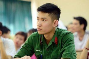Những tổ hợp xét tuyển vào trường quân đội