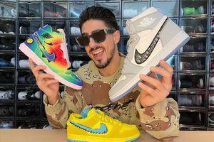 Nam giám đốc nổi tiếng với bộ sưu tập giày sneakers triệu USD