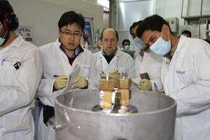 Iran làm giàu uranium lên mức 60%