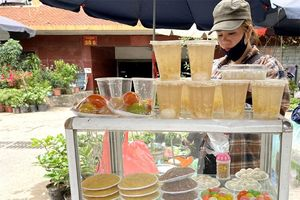 Sôi động thị trường bánh trôi, bánh chay ngày Tết Hàn thực