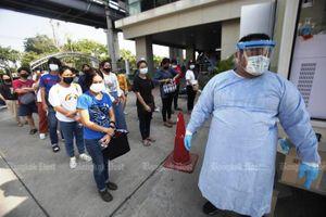 Số ca nhiễm Covid-19 trong ngày ở Thái Lan tăng vọt