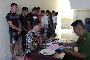 CLIP: Lại phát hiện nhiều đối tượng sử dụng ma túy trong phòng karaoke ở Tiền Giang