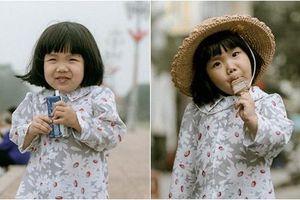 Bé gái 3 tuổi gây thương nhớ với bộ ảnh 'em bé Hà Nội', biểu cảm đáng yêu khiến dân mạng 'tan chảy'
