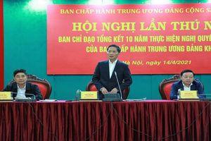 Tân Trưởng ban Kinh tế TW chủ trì Hội nghị Tổng kết Nghị quyết 19-NQ/TW về chính sách pháp luật về đất đai