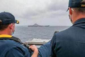 Mỹ, Trung cùng tập trận ở Biển Ðông