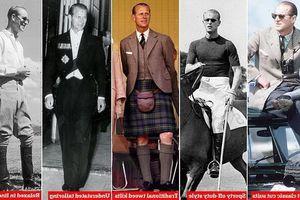 Phong cách thời trang của Hoàng thân Philip hoàn hảo đến mức trở thành tiêu chuẩn