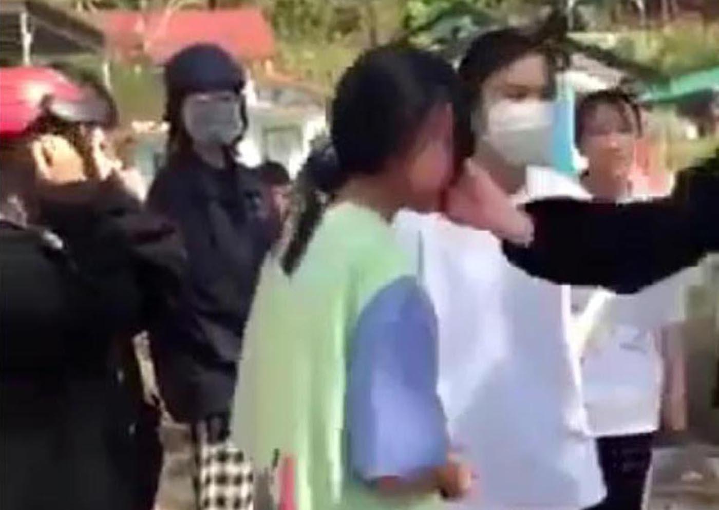 Nhóm nữ sinh cấp 2 ở Lâm Đồng đánh bạn tàn tệ tại nghĩa trang
