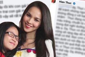 Hiền Thục - bà mẹ gây tranh cãi nhất showbiz Việt: Đáp trả 'cứng' khi bị anti chỉ trích dạy hư con