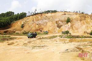 BQL Dự án NN&PTNT Hà Tĩnh chậm xử lý, đất cát bồi lấp ruộng của dân
