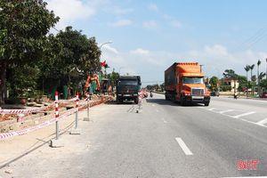Hơn 64 tỷ đồng chỉnh trang Quốc lộ 1 đoạn qua thị trấn Cẩm Xuyên