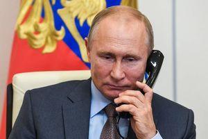 Tổng thống Putin nêu các giải pháp chính trị ở Ukraine với ông Biden