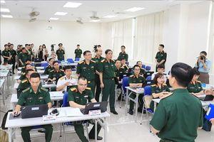 Khai mạc Khóa Huấn luyện sỹ quan tham mưu Liên hợp quốc