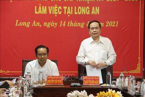 Phó Chủ tịch Thường trực Quốc hội kiểm tra công tác chuẩn bị bầu cử tại Long An
