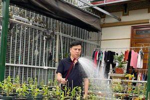 Ông chủ Ninh Nguyễn đam mê hoa lan
