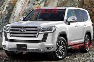 Lộ diện thiết kế Toyota Land Cruiser hoàn toàn mới