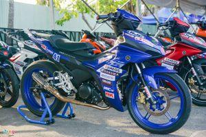 Chi tiết Yamaha Exciter 155 phiên bản xe đua đầu tiên tại Việt Nam