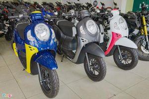 Xe ga Honda Scoopy 2021 về Việt Nam, giá 74 triệu đồng