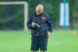 HLV Park Hang-seo chốt địa điểm tập huấn của đội tuyển Việt Nam