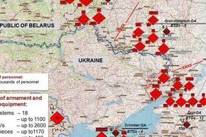 Tình báo Mỹ tiết lộ chi tiết quân số lực lượng Nga triển khai gần Ukraine