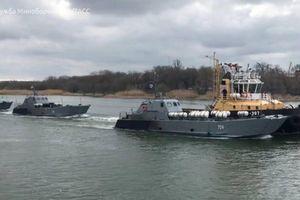 Hạm đội Caspi Nga vượt 100 km kênh đào, ùn ùn kéo đến Biển Đen