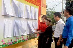 Thái Nguyên hiện đứng đầu về tỷ lệ nữ cử viên đại biểu Quốc hội trong 7 tỉnh trung du, miền núi phía Bắc