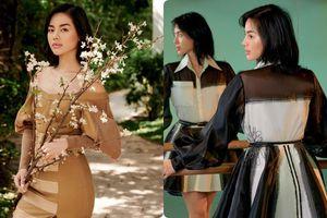 Đã bắt trend cực đỉnh, 'cô em trendy' Khánh Linh còn mặc đồ tái chế chất đến ngỡ ngàng
