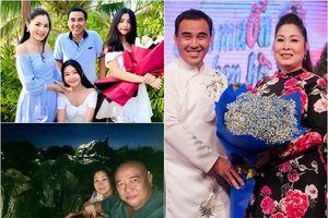 Chuyện tình 2 MC 'Bạn muốn hẹn hò': Quyền Linh lấy vợ giàu, Hồng Vân được chồng xây cả núi