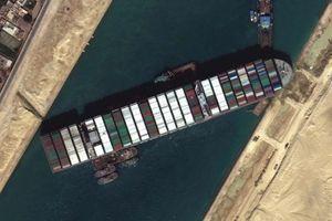 Ai Cập giam tàu Ever Given và 3,5 tỷ hàng hóa cho tới khi nhận 916 triệu USD bồi thường