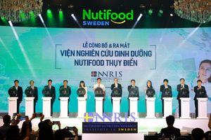 Ra mắt Viện Nghiên cứu Dinh dưỡng Nutifood Thụy Điển - NNRIS