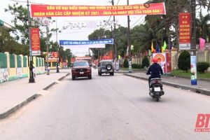 Thị xã Nghi Sơn chú trọng công tác tuyên truyền về bầu cử