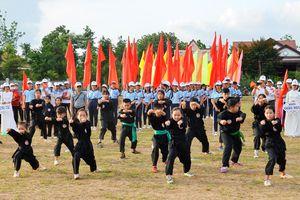 300 VĐV tham gia Đại hội TDTT xã Xuân Sơn (huyện Châu Đức)