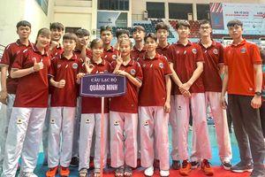 Quảng Ninh giành 10 huy chương tại Giải vô địch các CLB Taekwondo
