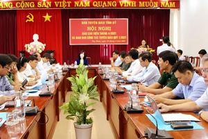Tây Ninh: Hội nghị báo cáo viên tháng 4 và giao ban công tác tuyên giáo quý I năm 2021