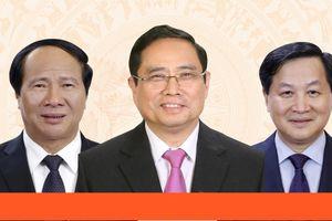 Giới thiệu chữ ký của Thủ tướng, 2 Phó Thủ tướng và Bộ trưởng, Chủ nhiệm VPCP