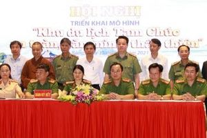 Hà Nam xây dựng mô hình 'Khu du lịch Tam Chúc an toàn, văn minh, thân thiện'