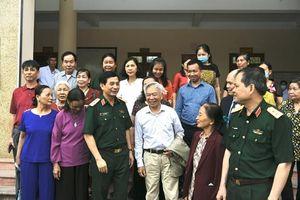 Cử tri nhất trí giới thiệu Thượng tướng Phan Văn Giang ứng cử đại biểu Quốc hội khóa XV