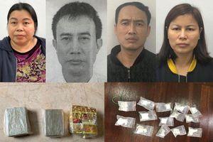 Khám phá đường dây ma túy từ việc bắt giữ cặp tình nhân mang 4 bánh heroin