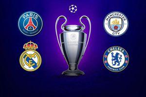Lịch thi đấu vòng bán kết Champions League 2020/21