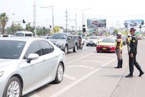 Tai nạn giao thông ở Thái Lan tăng mạnh trong dịp tết Songkran