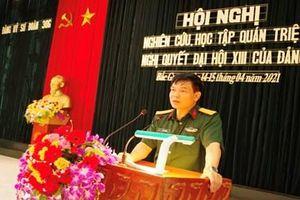Đảng ủy Sư đoàn 306 (Quân đoàn 2) quán triệt Nghị quyết Đại hội XIII của Đảng