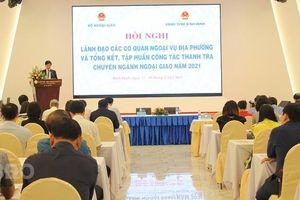 Bộ Ngoại giao sẵn sàng đồng hành với địa phương kết nối hợp tác và thu hút đầu tư nước ngoài