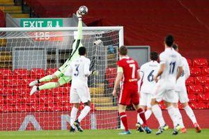 Bất lực trước hàng thủ của Real, Liverpool ngậm ngùi rời Champions League